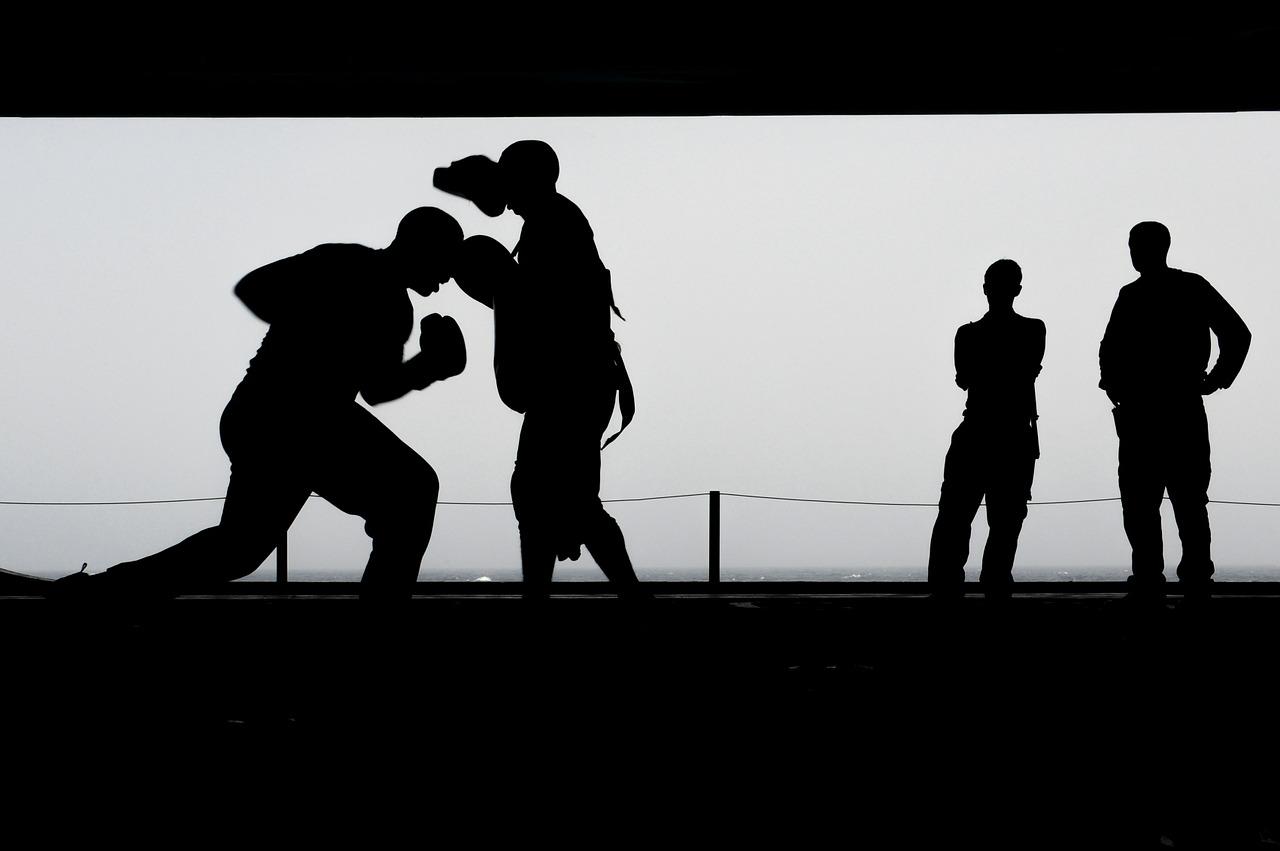 Kickboxen Selbstverteidigung